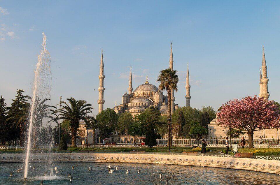 Истанбул с парк Емирган